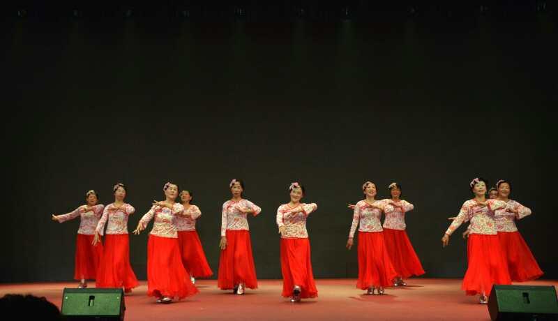 花园路街道小关社区舞蹈队2